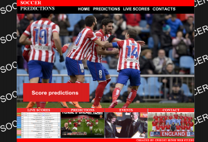 SOCCER PREDICTIONS, IS WEB STUDIO